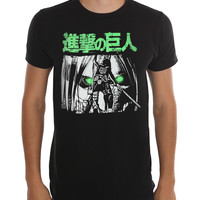 Attack On Titan Glowing Eyes T-Shirt