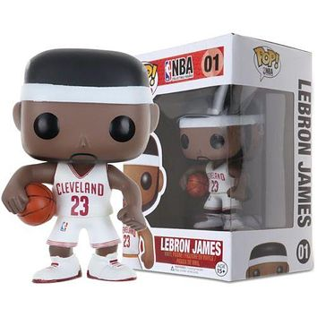 NBA Basketball World Star Kobe James Vinyl Action Figure Toy Gifts