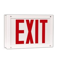 GTRVE - VANDAL RESISTANT INDUSTRIAL LED EXIT SIGN - LED Exit Signs - Fixtures | Topbulb