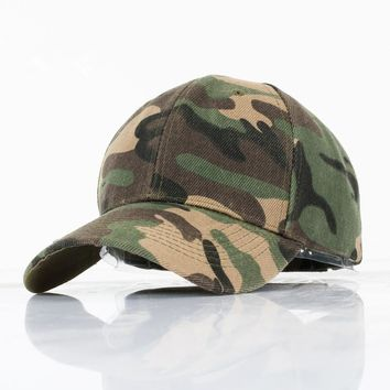 Trendy Winter Jacket 2018 New Spring Summer Camo Baseball Cap Men Tactical Cap Camouflage Snapback Hat For Men High Quality Bone Hat Trucker AT_92_12