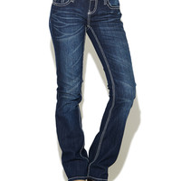 Wing Back Boot Cut Jean | Wet Seal