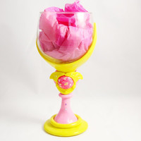 Kawaii Sailor Moon Crescent wand Wine glass
