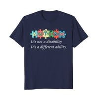 Puzzle Autism Shirt for Mom Dad Teachers on Autism Day
