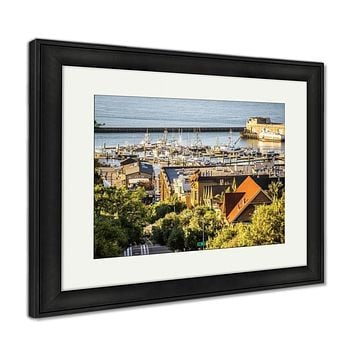 Framed Print, Downtown San Francisco City Street Scenes And Surroundings