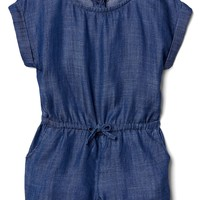 TENCEL™ chambray romper | Gap