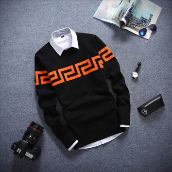 Long Sleeved Sweater Black