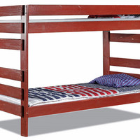 Tribeca Extra Long Twin over Twin Colored Bunk Bed
