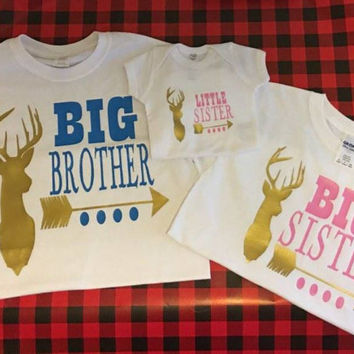 a87c2bacb4f00 Best Sibling Announcement Shirts Products on Wanelo
