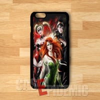 Cat Woman Poison Ivy Harley Quinn - zAz for  iPhone 4/4S/5/5S/5C/6/6+,Samsung S3/S4/S5/S6 Regular/S6 Edge,Samsung Note 3/4