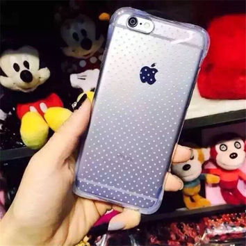 Iphone 6/6s Cute On Sale Hot Sale Hot Deal Stylish Transparent Silicone Simple Design Phone Case [6034153409]