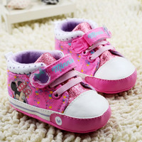 New  Baby Shoes Baby Sneakers Newborn baby girls Shoes First Walkers Zapatos para bebe