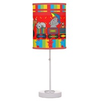 Circus Fun for Everyone Nursery Lamp