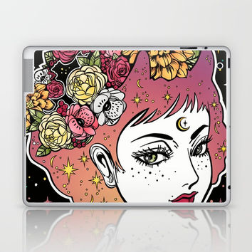 Floral Venus Laptop & iPad Skin by MIKART