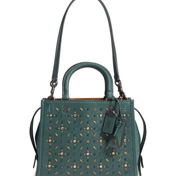 COACH 1941 Rivets Rogue 25 Leather Satchel | Nordstrom