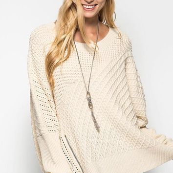 Roll the Bass Sweater Tunic