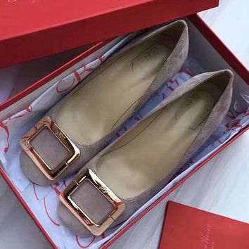 Roger Vivier Women Casual Low Heeled Shoes