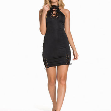 AH Lace Up Dress, NLY One