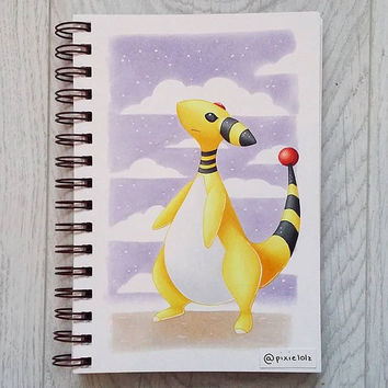 Pokemon Ampharos Original Artwork