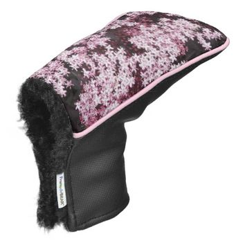 Black Lace Elderberry Floral Golf Head Cover
