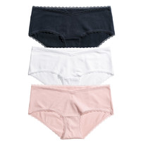 H&M MAMA 3-pack Hipster Briefs $14.99