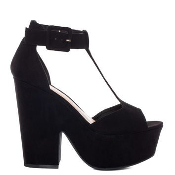 Jane Doe Platforms - Black
