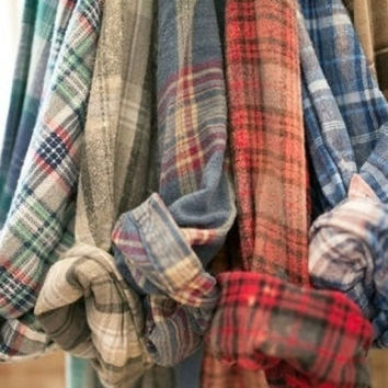FLASH SALE - Mystery Vintage/Vintage Inspried Flannel shirts, All Sizes & Colors