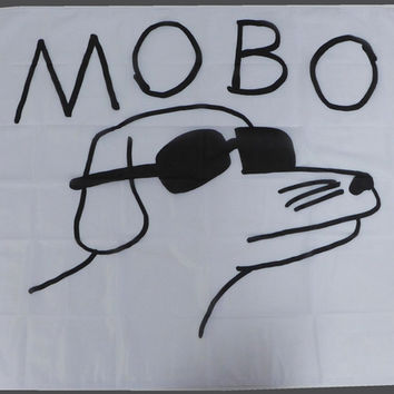 MOBO Dog Wall Flag