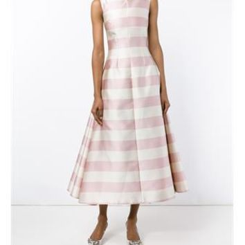 EMILIA WICKSTEAD | Fiona Stripe Sleeveless Dress | Womenswear | Browns Fashion