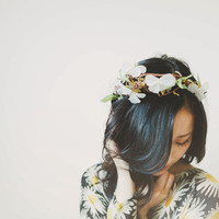 Mother Nature flower crown by helloemyshop on Etsy