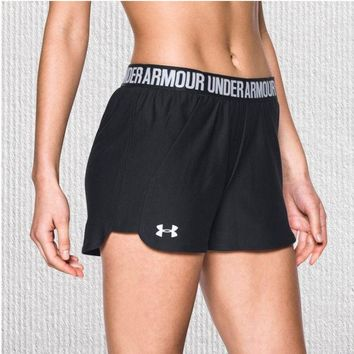 """Under Armour"" Stylish Women Causal Sports Running Shorts I"