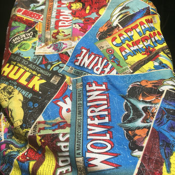 Zippered Pouch Makeup Bag, Zipper Pouch, Pencil Case, Makeup Bag,Marvel Comics