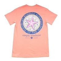 Preppy Compass Tee by Simply Southern