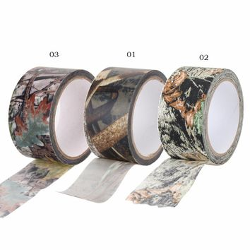 10mx0.5m Army Camo Outdoor Hunting Shooting Tool Camouflage Stealth Tape Waterproof Wrap Rifle  accessories