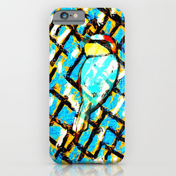 Bird in Pattern iPhone & iPod Case by Artist CL