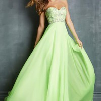 Night Moves 7095 at Prom Dress Shop
