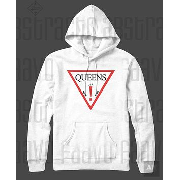 Queens Nas Guess Adult Unisex Pullover Hoodie