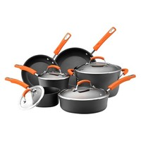 Rachael Ray® Hard-Anodized Nonstick 10-Piece Cookware Set
