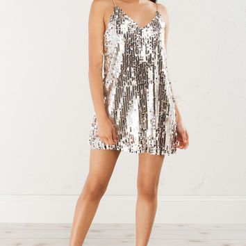 NEW YEAR NEW ME SEQUIN DRESS - What's New