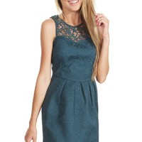 Tasteful Teal Dress - WHAT'S NEW - SHOP