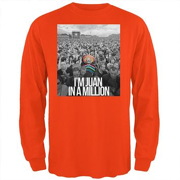 Cinco de Mayo I'm Juan in Million Mens Long Sleeve T Shirt