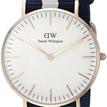 Daniel Wellington Women's 0503dw Glasgow Stainless Steel Watch With Multi Color Band