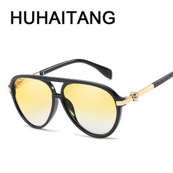 Oval Sunglasses Men Women Skull Sun Glasses High Quality Sunglasses-women Men Glasses Brand Sunglass
