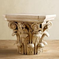 Roman Capital | Objets D'Art | Restoration Hardware