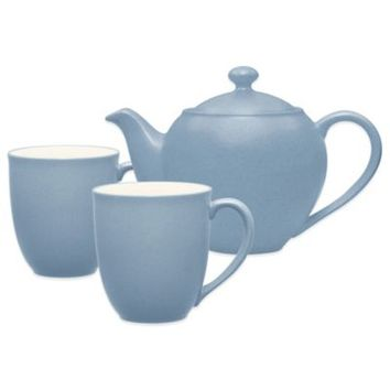 Noritake® Colorwave 3-Piece Tea-for-Two Teapot Set in Ice
