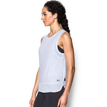 Women's Under Armour Favorite Mesh Graphic Tank | null
