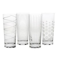 Mikasa Cheers 4-pc. Highball Glass Set