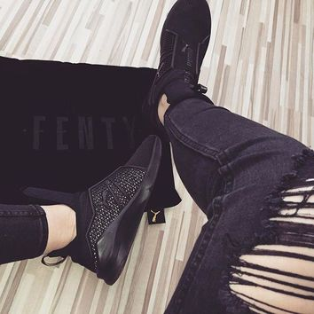 kuyou PUMA Fenty Trainer - Rihanna Collection Blackout