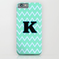 Letter K iPhone & iPod Case by Gretzky
