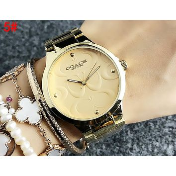 COACH Trending Stylish Movement Watch Business Watches Couple Wristwatch 5#
