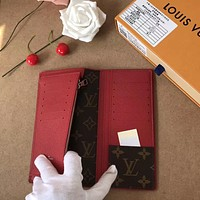 LV Louis Vuitton MUL TIPLE Monogram Giant Micro Pochette Accessories Voyage lattice Brazza zippy wallet purse bucket coin card make up bags pouches handbag Best quality brown black pink red blue green